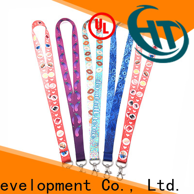 high visibility custom lanyard manufacturer for advertising