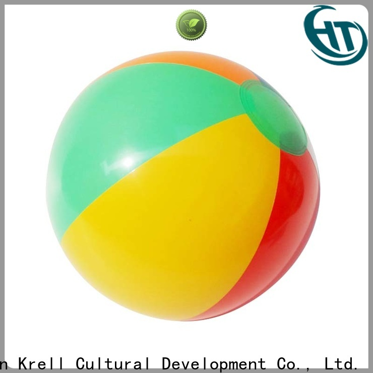 Krell giant beach ball personalized for commercial