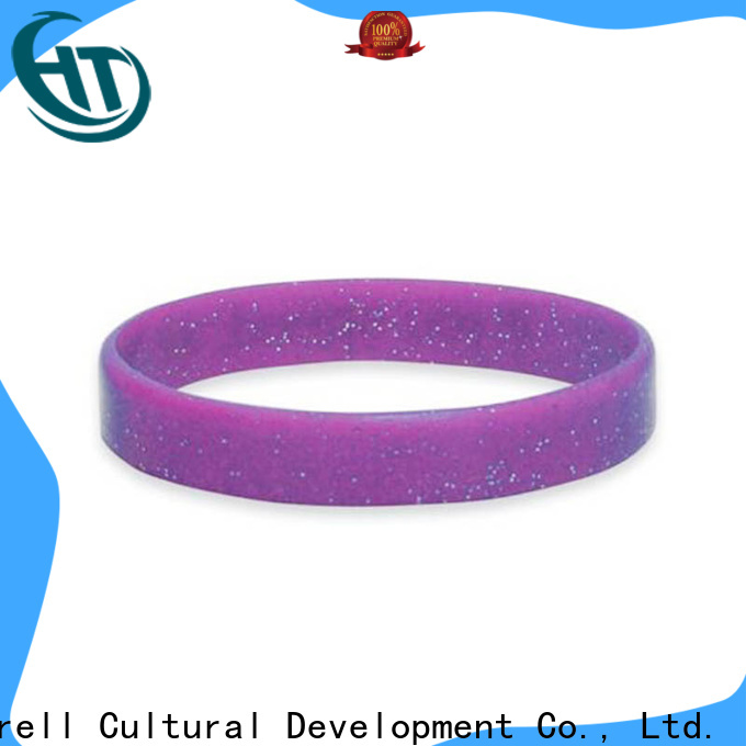 Krell long lasting silicone bracelets supplier for daily life