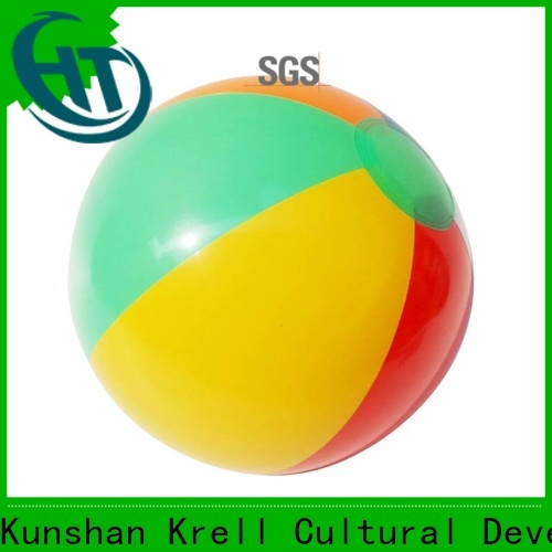 Krell inflatable beach ball factory price for commercial