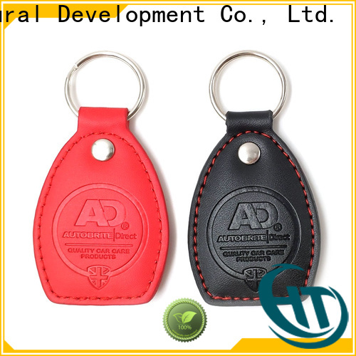 Krell acrylic keychain personalized for brand promotion