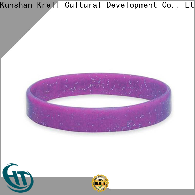 Krell long lasting custom wristbands manufacturer for campaign
