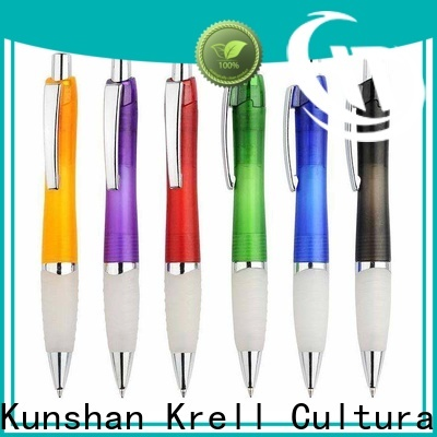 Krell durable personalized pens design for commercial