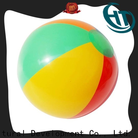 Krell giant beach ball personalized for promotion