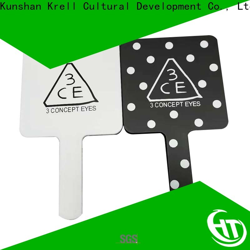 Krell good quality leather keychain customized for advertising