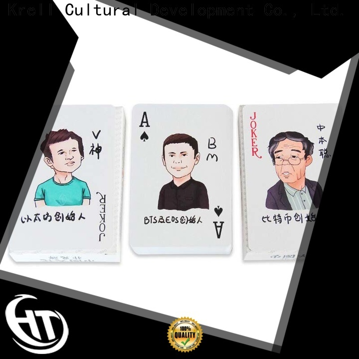 quality best playing cards supplier for advertising