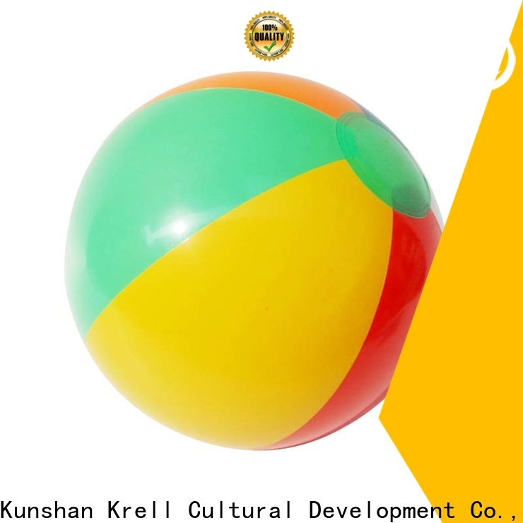 Krell handy custom beach ball personalized for advertising