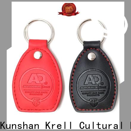 Krell promotional custom keyrings design for tourist attractions