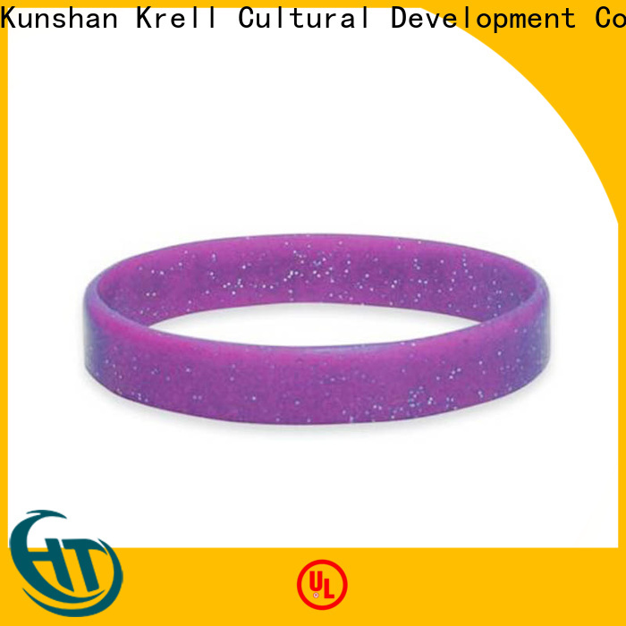 Krell silicone bracelets wholesale for campaign
