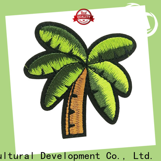 Krell custom embroidered patches factory price for gifts