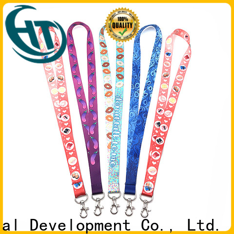 practical badge lanyards wholesale for promotion