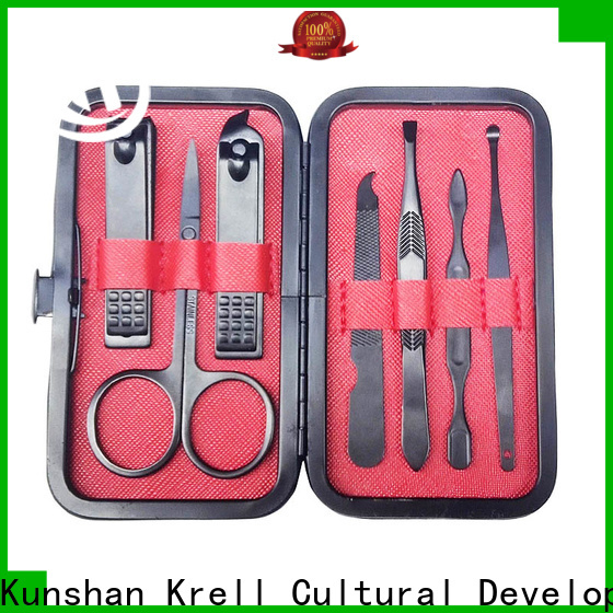 Krell realiable manicure pedicure kit from China for daily life