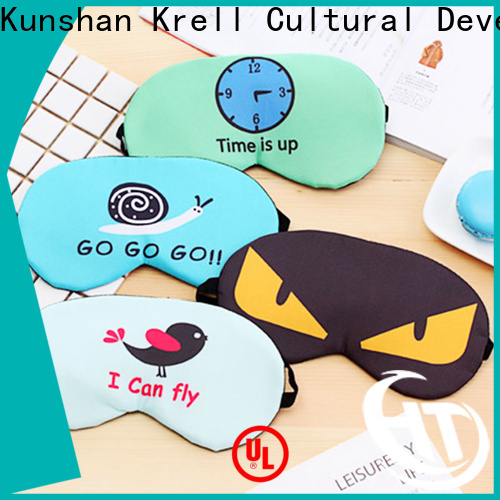 Krell personalised eye mask customized for customers