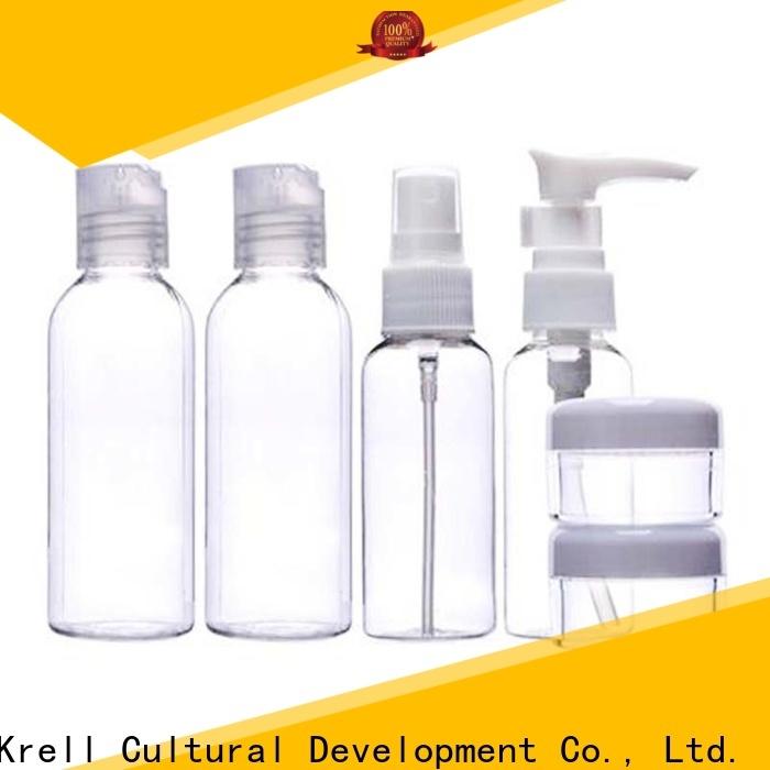 Krell quality refillable perfume bottle manufacturer for travel