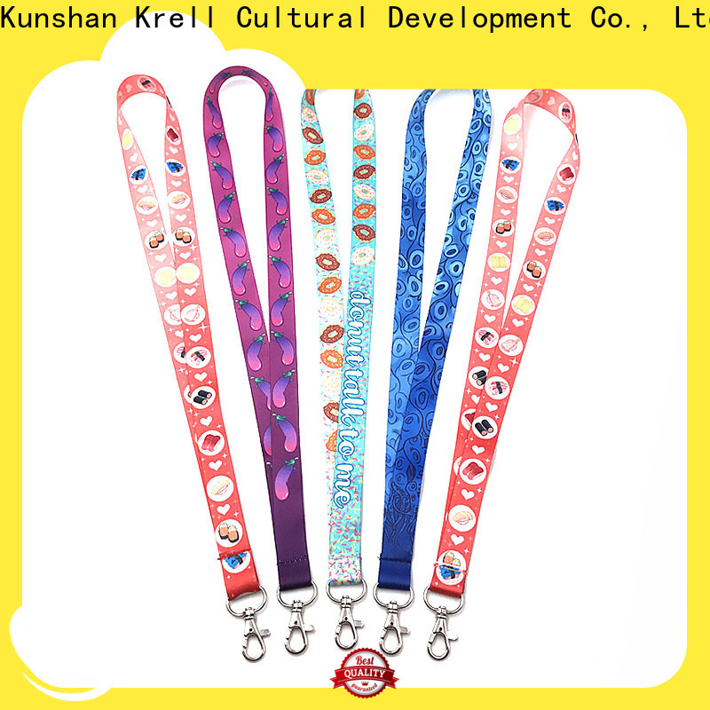 Krell personalised lanyards wholesale for advertising