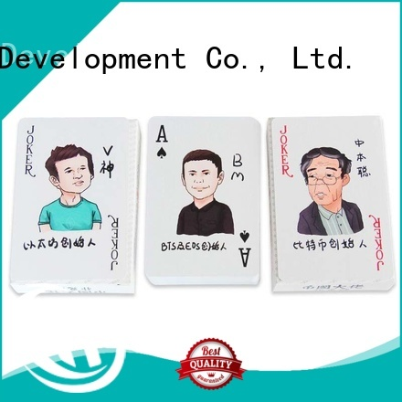 good quality best playing cards personalized for promotional