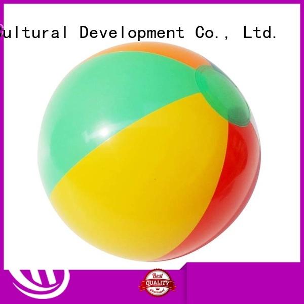 Krell handy custom beach ball factory price for advertising