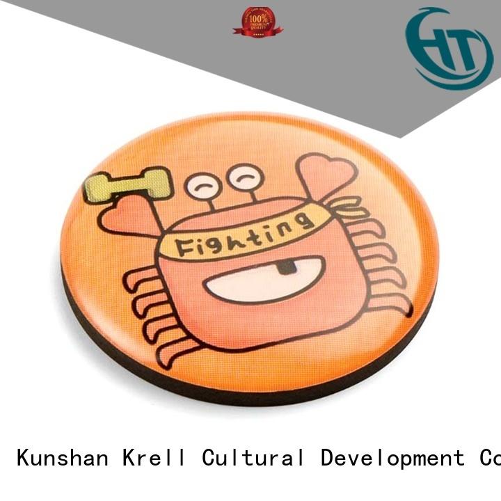 Krell custom enamel pins supplier for souvenir