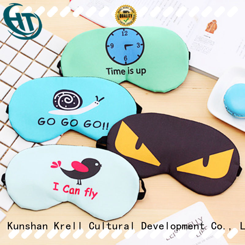 Krell comfortable best eye mask personalized for friends