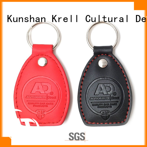 promotional leather keychain personalized for souvenirs