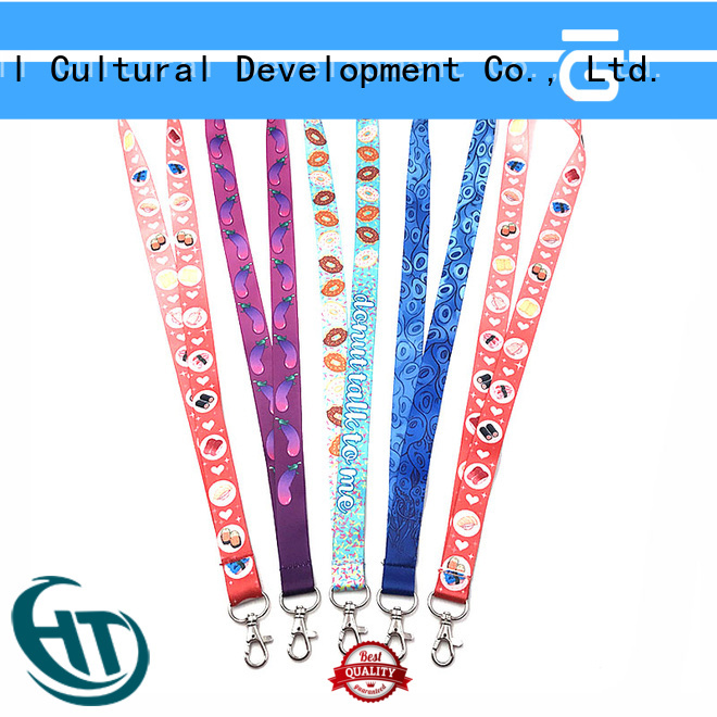practical personalised lanyards manufacturer for gift