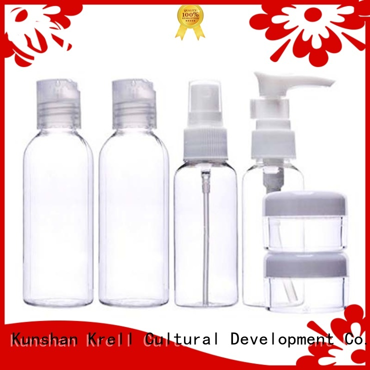 Krell quality empty perfume bottles from China for travel