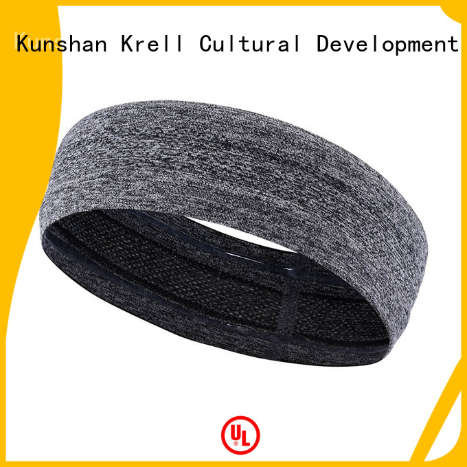 Krell fashionable custom sweatbands directly sale for ladies