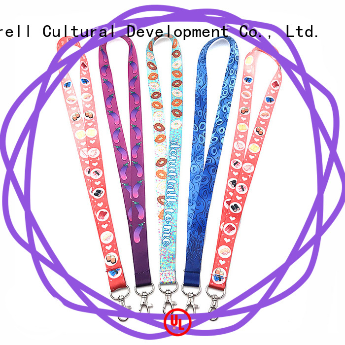 Krell high visibility custom lanyards on sale for promotion