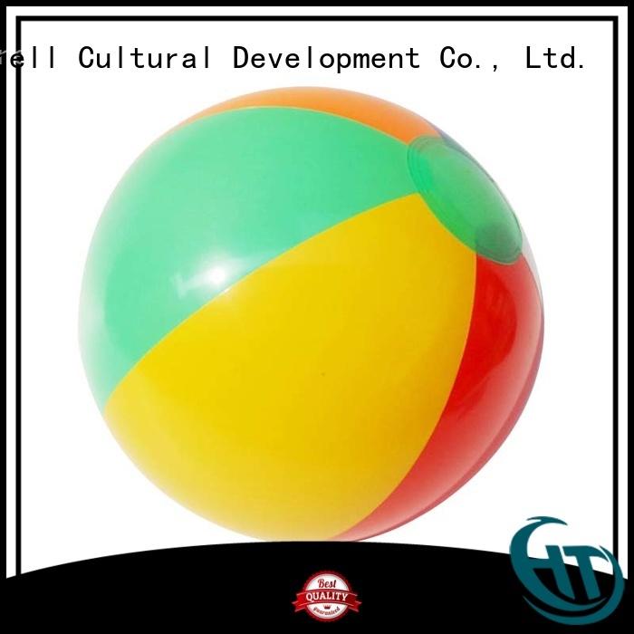 soft custom beach ball supplier for commercial