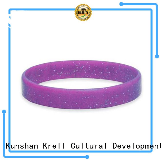 Krell creative custom wristbands manufacturer for campaign