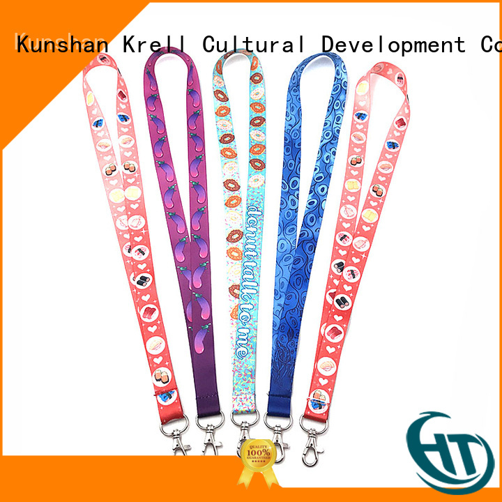 Krell practical custom lanyard wholesale for gift