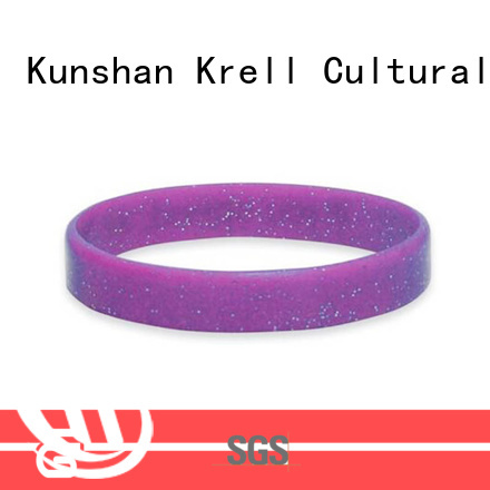Krell silicone bracelets manufacturer for campaign