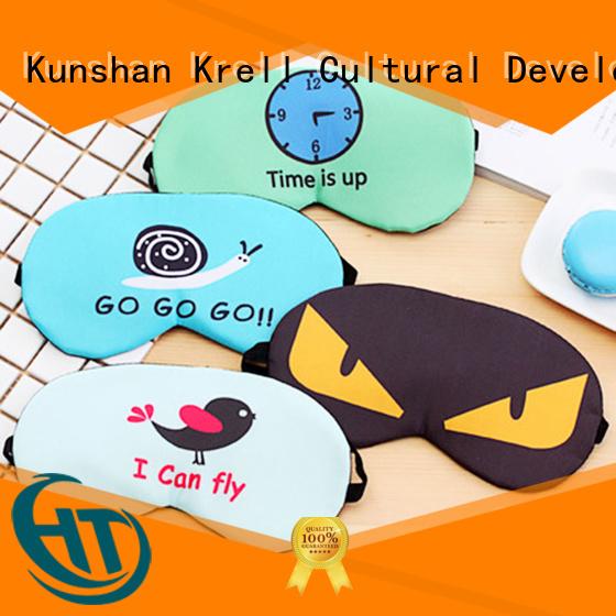 Krell soft best eye mask customized for friends