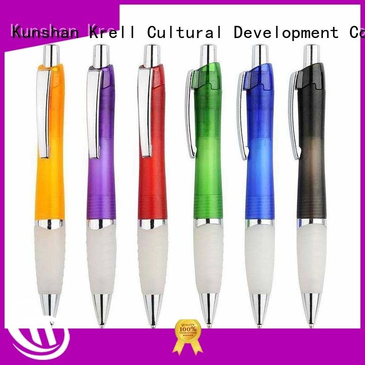 Krell promotional pens customized for commercial
