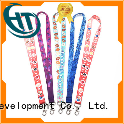 Krell high visibility personalised lanyards on sale for advertising