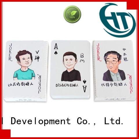Krell custom playing cards supplier for promotional