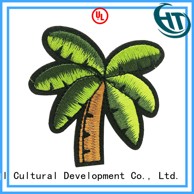 excellent custom embroidered patches supplier for gifts