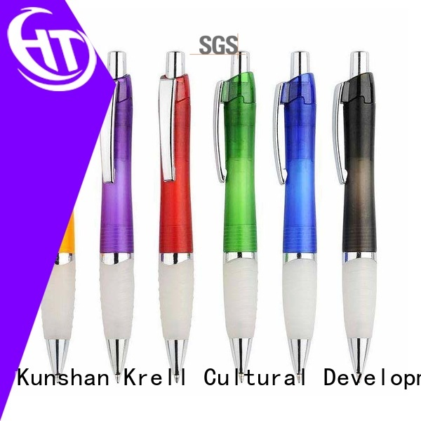 Krell durable promotional pens supplier for advertising