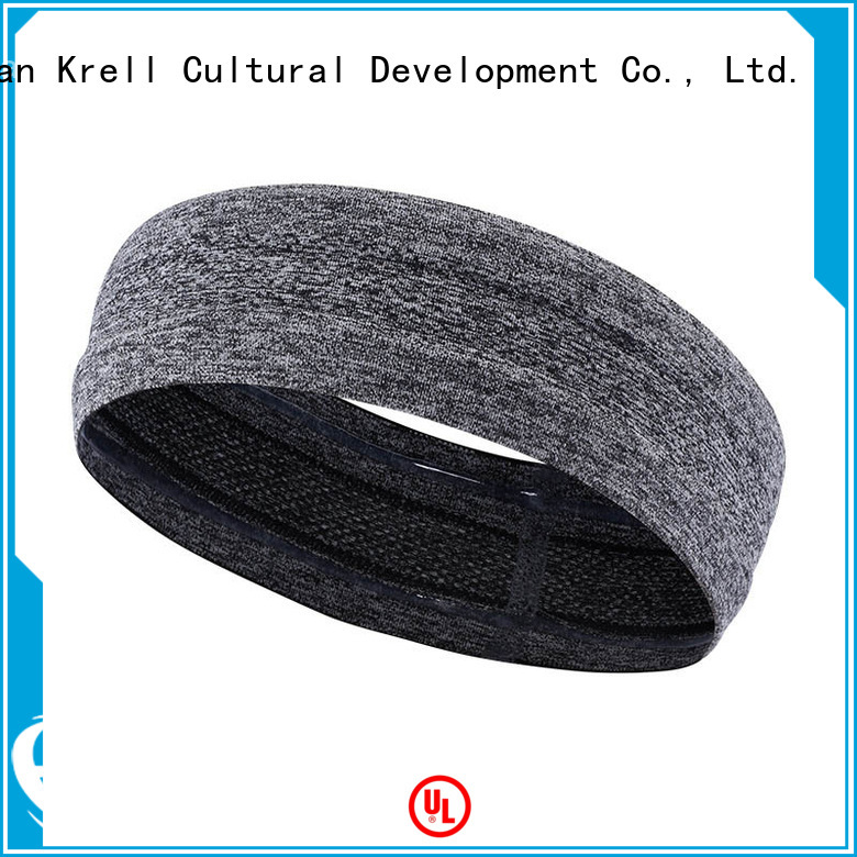 Krell custom sweatbands factory price for ladies