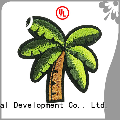 Krell custom embroidered patches factory price for Christmas gifts