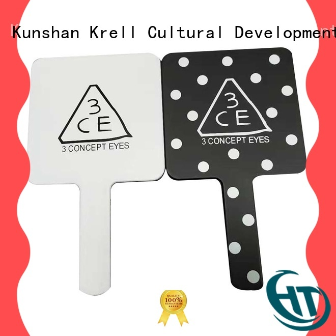 Krell popular acrylic keychain factory for brand promotion