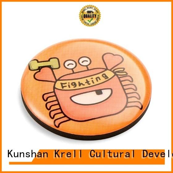 Krell professional custom enamel pins supplier for gift