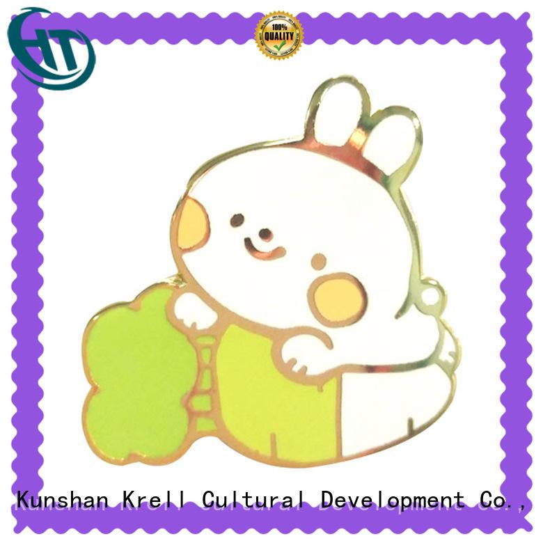 Krell custom pins factory price for gift
