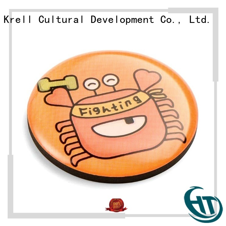 Krell durable custom enamel pins factory price for family