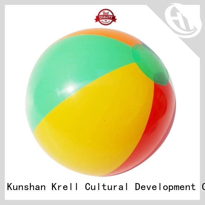 Krell light giant beach ball factory price for gift
