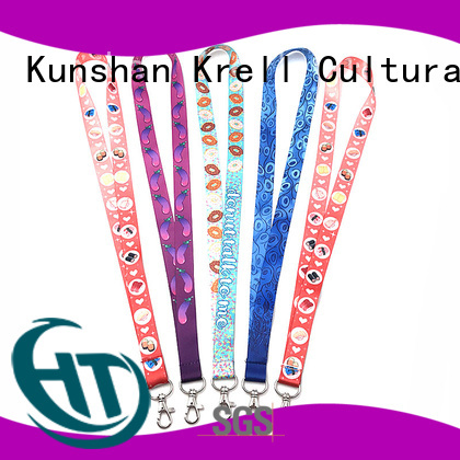 Krell custom lanyards wholesale for promotion