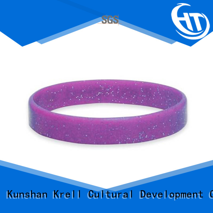 Krell silicone bracelets wholesale for sports