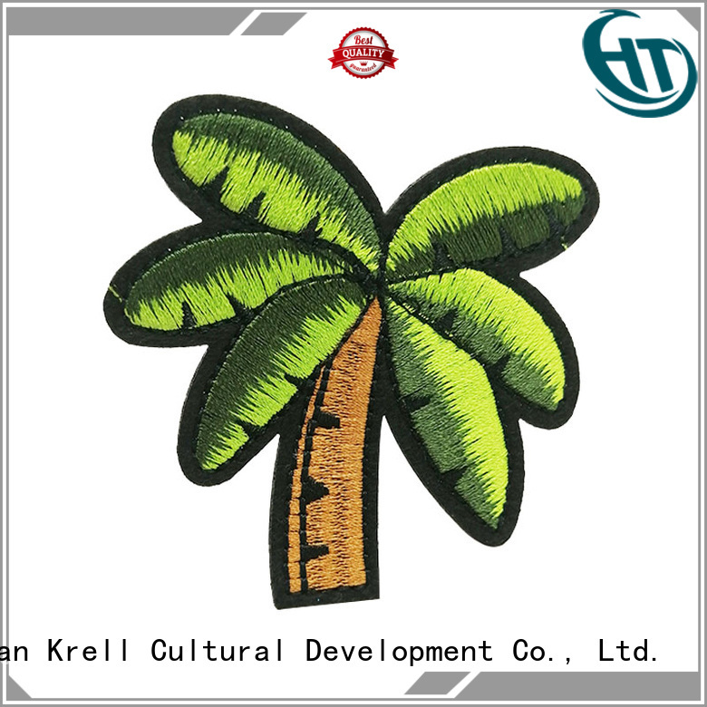 Krell custom embroidered patches wholesale for souvenir