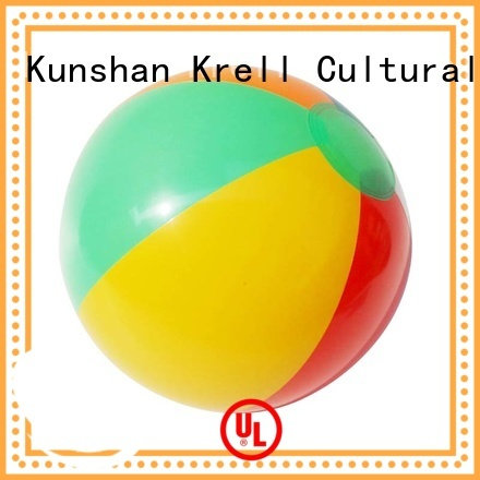 Krell handy inflatable beach ball wholesale for commercial