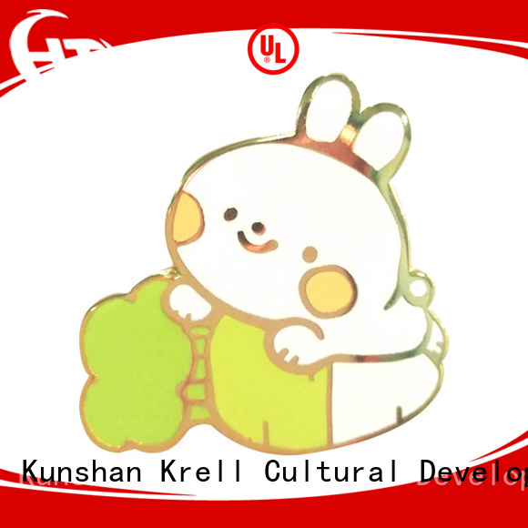 Krell popular custom badges customized for souvenir